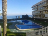 SHL101, 1 bedroom reformed apartment, sea front, Mil Palmeras